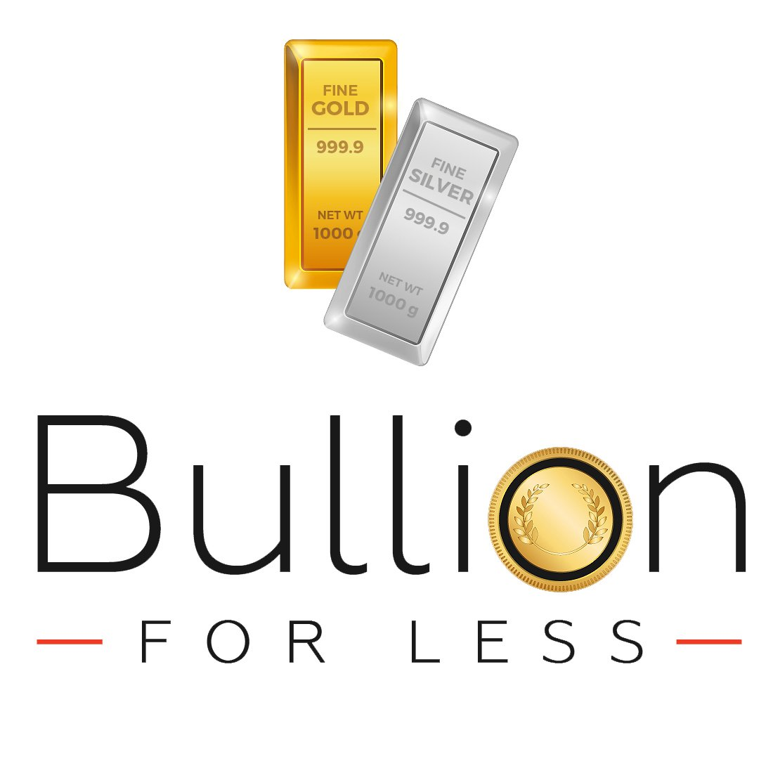 bullion for less logo